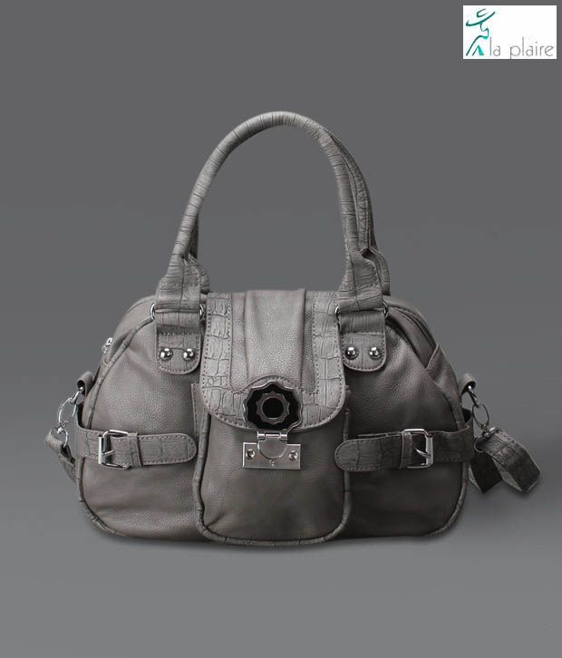 La Plaire Amazing Grey Handbag