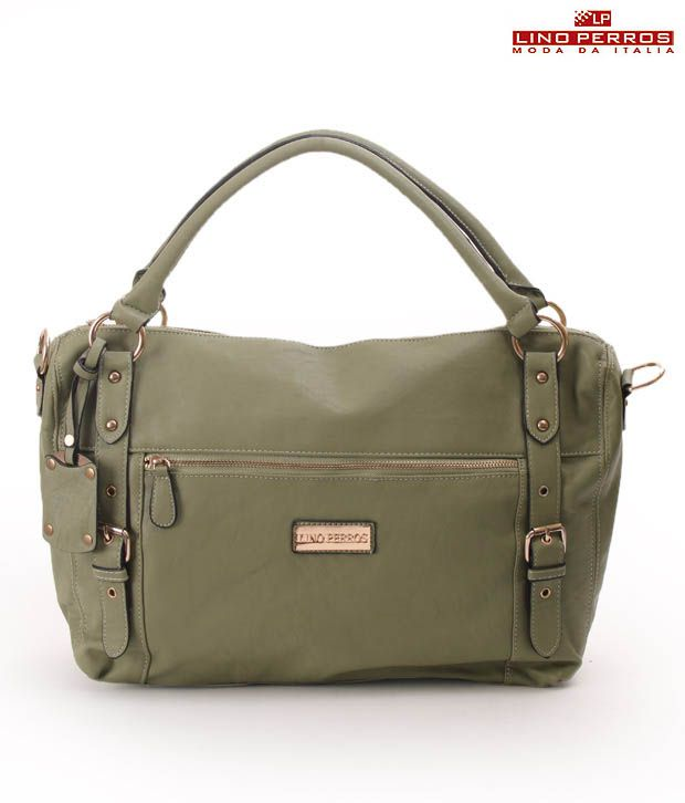 Lino Perros Gorgeous Green Stylised Handbag
