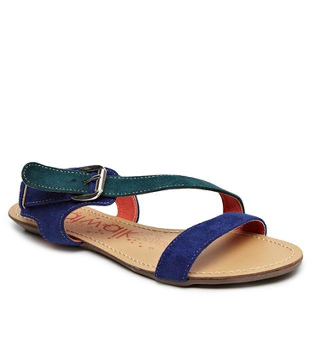 Catwalk Green Sandal