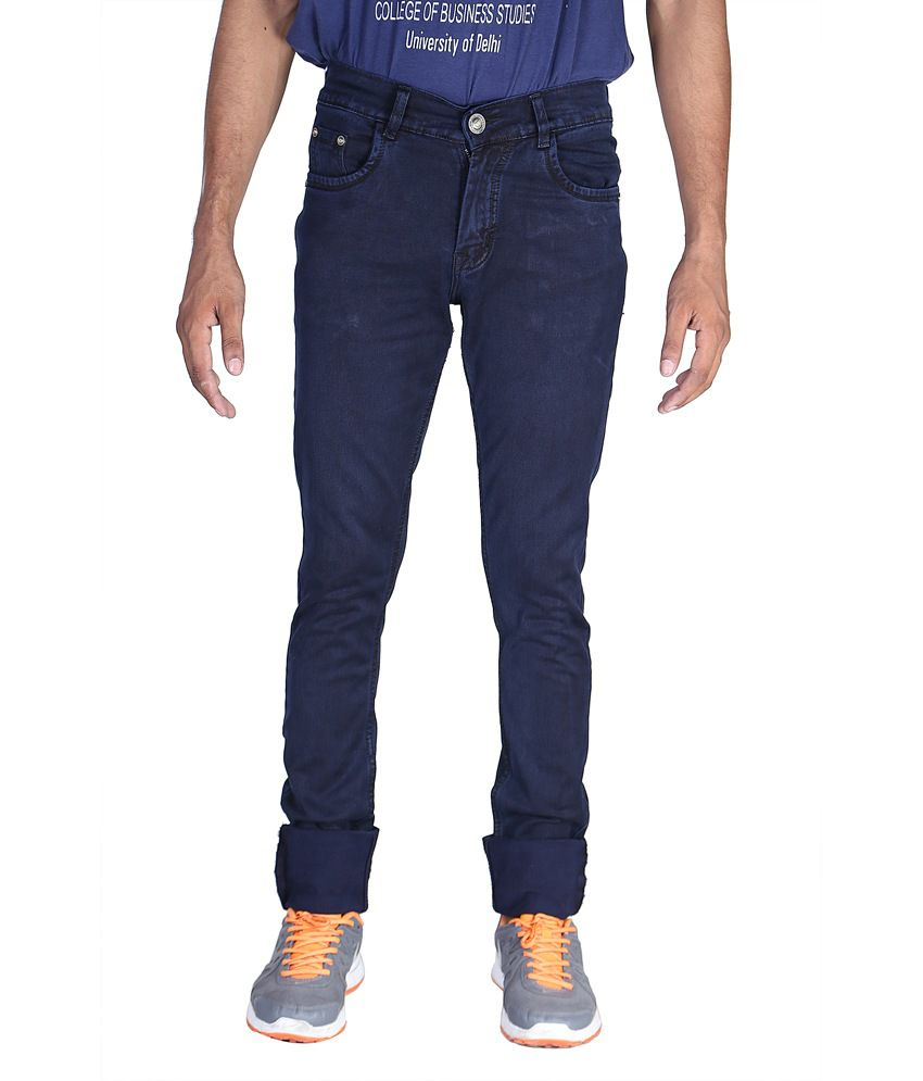Wintage Slim Navy Blue Denim