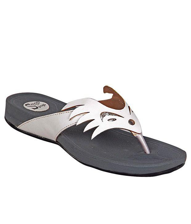 STEPpings White Flat