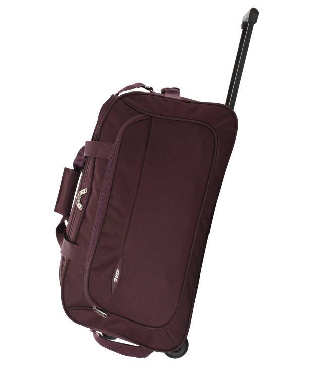 28c1dedce5 Vip dfttro62ppl Troy Purple Duffle Trolly 62 Cm - Best Price in ...
