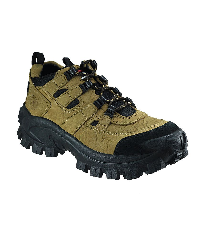 Woodland Brown Outdoor Shoes Art CG40777CAM - Buy Woodland ...