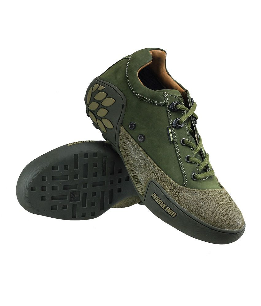 Woodland Wdgc0549108 Green Men Outdoor Casual Shoes Art Ngc549108grn