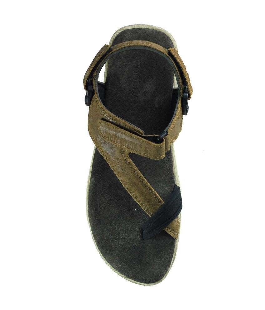Woodland Wdgd1143112-Camel Mens Sandal Price in India- Buy ...