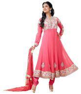 Good Girl Pink Designer Wear Anarkali Salwar Suit