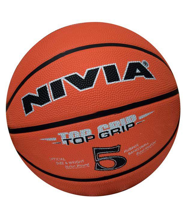 Nivia Top Grip Basketball / Ball Size  5  BB 194