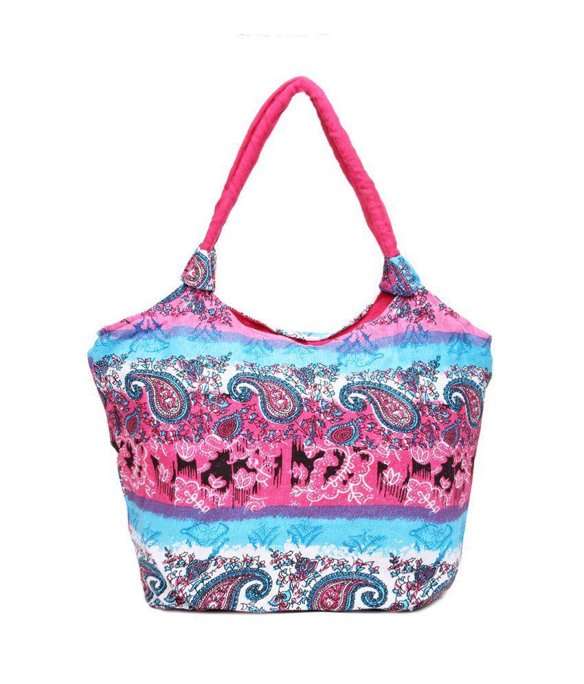 Kraftrush Multi-coloured Handbag