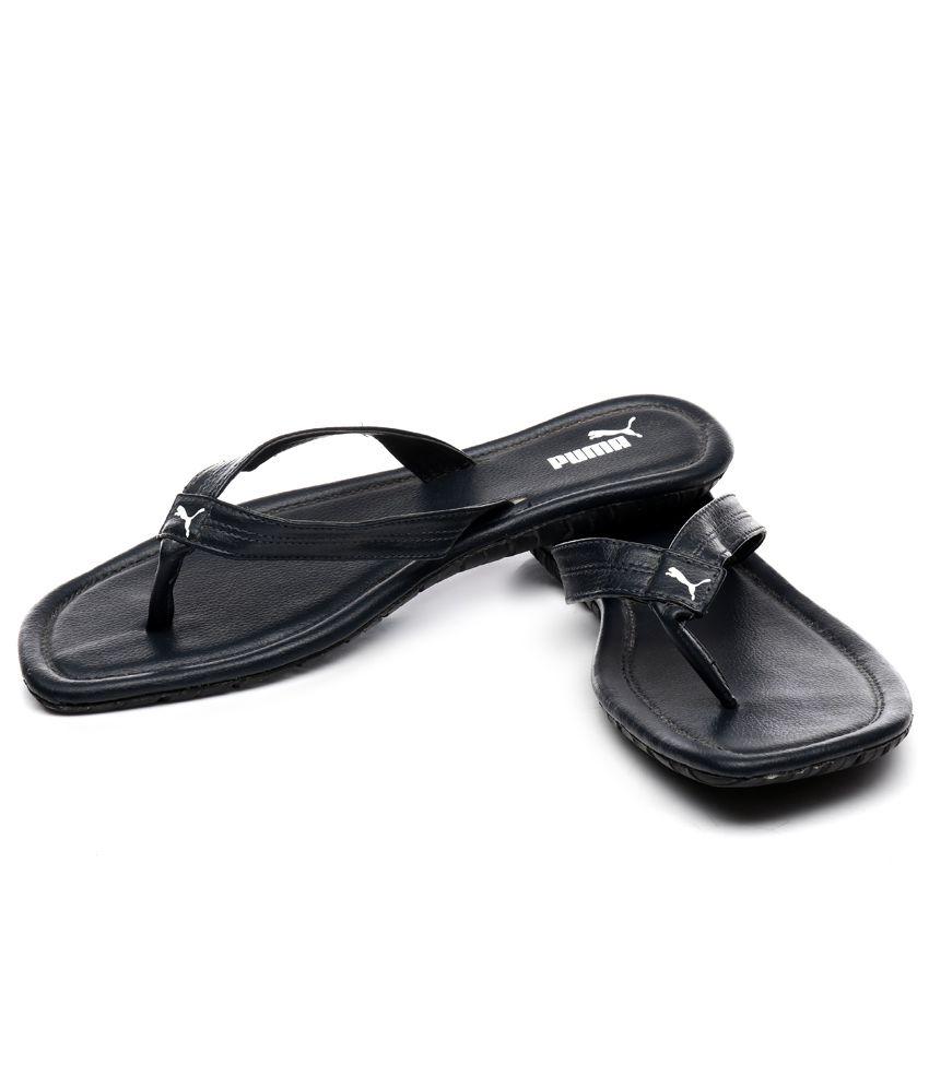 Puma Black Slippers Price in India- Buy Puma Black Slippers Online ... e3c9d3afc
