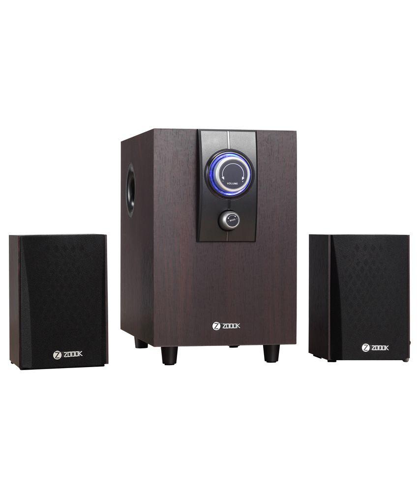 Zoook SP-2100 2.1 Desktop Speakers