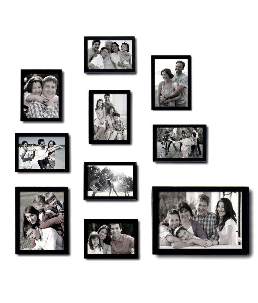 Blacksmith Black Multi Frame Collage (10 Piece): Buy Blacksmith ...