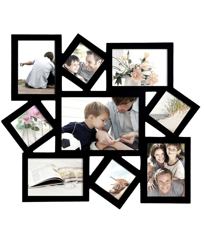 Blacksmith Black Stylish Photo Frame Collage: Buy