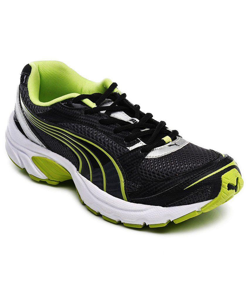 Puma Axis II Ind Black&Green Running shoes