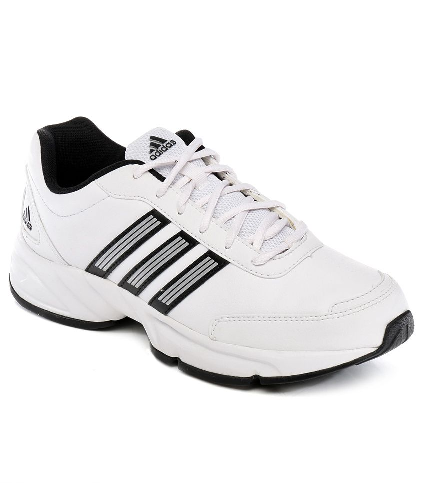 72f0e3636 Adidas White Sport Shoes - Buy Adidas White Sport Shoes Online at Best  Prices in India on Snapdeal