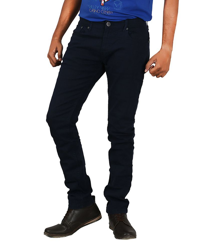 Afford Fashion Jeans Navy
