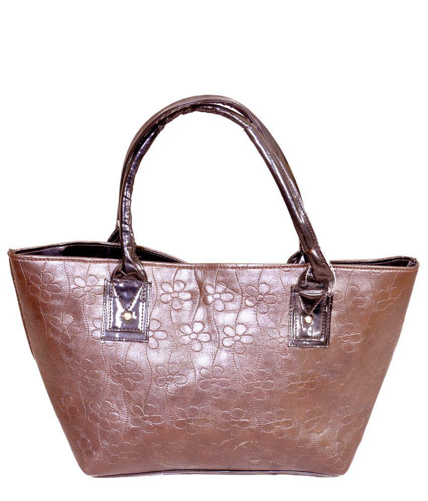 SAID SAS010 Brown Shoulder Bags