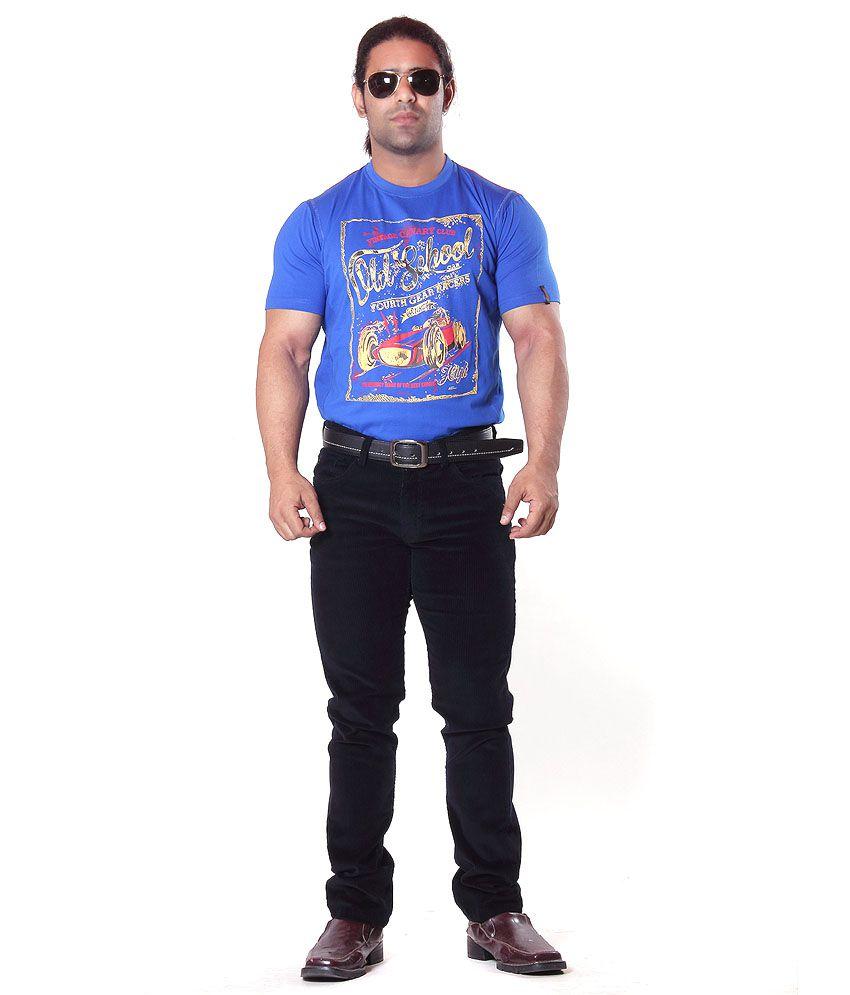Men's R_blue T_shirt
