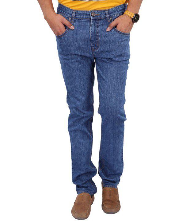 ZAAB Blue Slim  Jeans