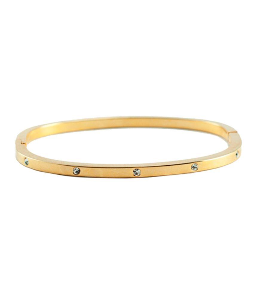 Shyama Atoot Golden Stone Bracelet