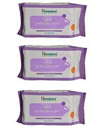 Himalaya Gentle Baby Wipes 72pcs (Pack of 3)