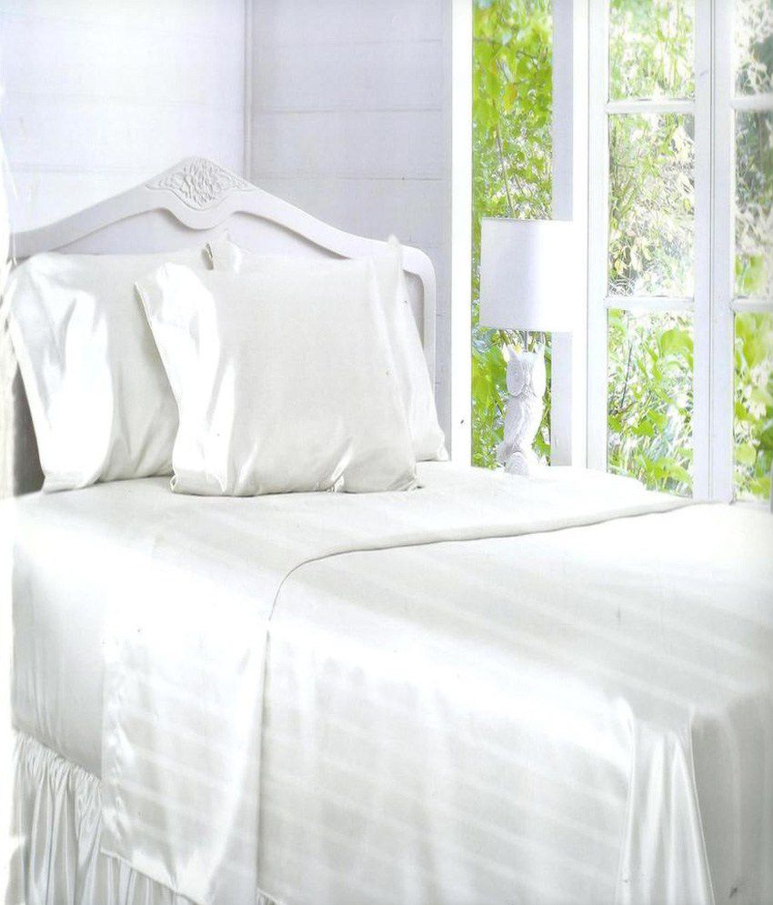 Bombay Dyeing Satin Bed Sheets