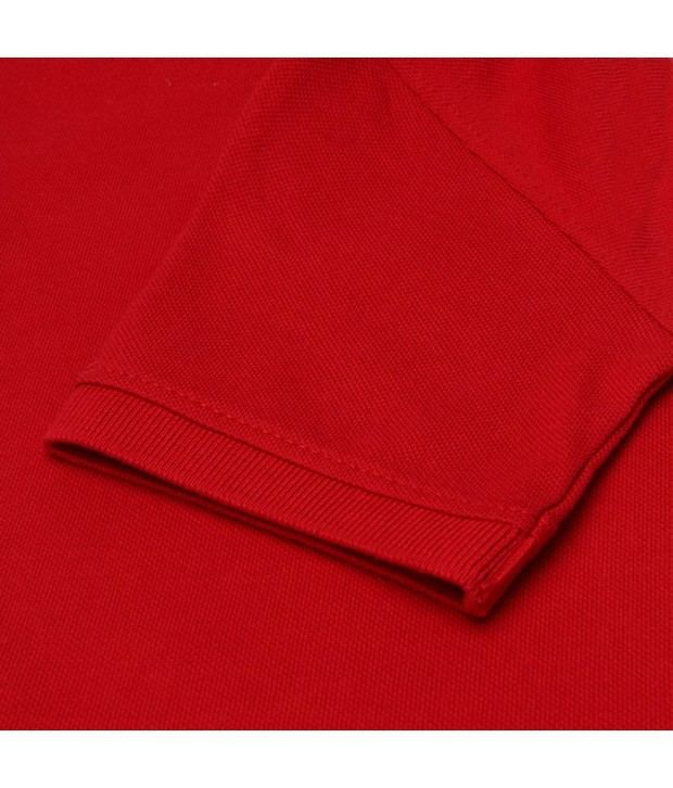 Levis Kids Cherry Red Color T Shirt For Boys