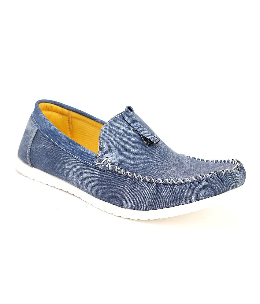 Quarks Blue Loafers