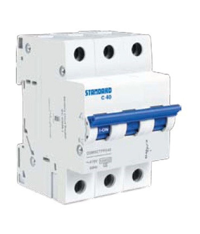 Buy Standard Triple Pole Mcb 63a Online At Low Price In India Snapdeal Electrical Machine Miniature Circuit Breaker