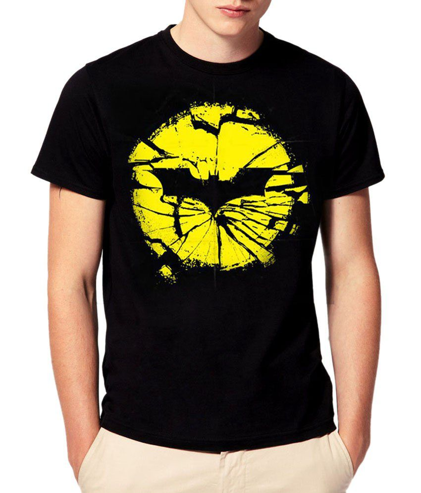attitude21 batman logo mens tshirt buy attitude21 batman. Black Bedroom Furniture Sets. Home Design Ideas