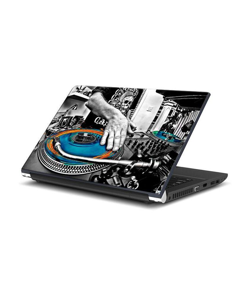 Bluegape Dj Wallpaper Laptop Skin