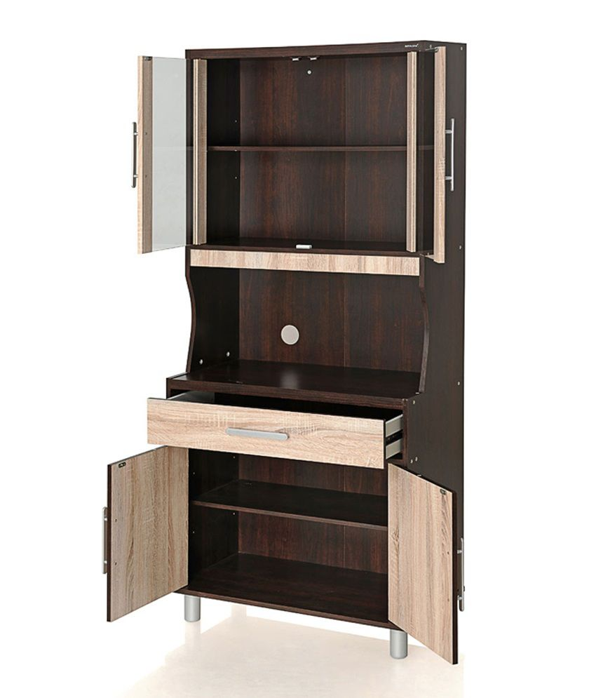 Crockery cabinets online india cabinets matttroy for Kitchen cabinets online india