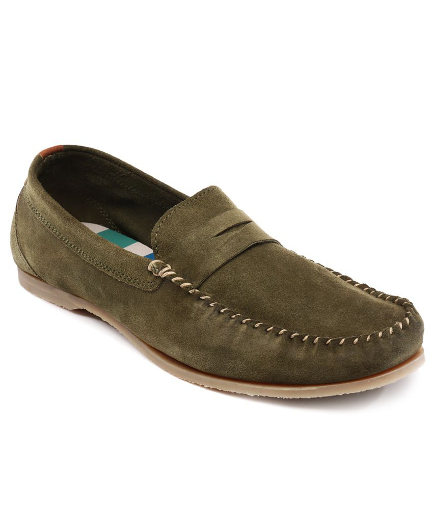 cheap sale visa payment FOGGY Green Loafers from china free shipping low price pIWNj