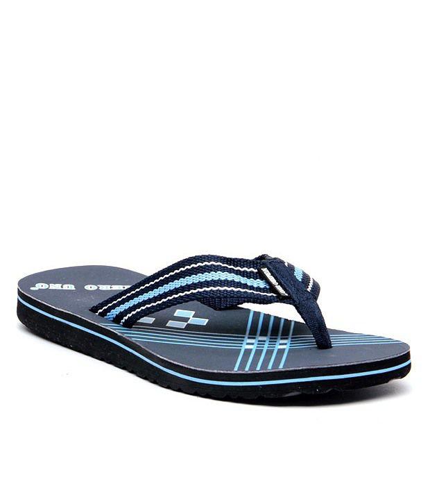 1deb107869a6 Numero Uno Blue Flip Flops Price in India- Buy Numero Uno Blue Flip Flops  Online at Snapdeal