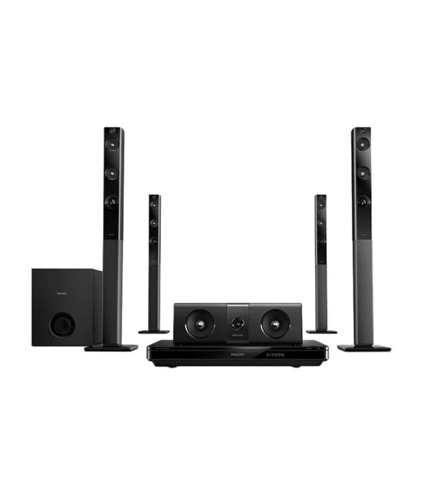 Home Theater Buying Tips: Buy Philips HTD5580 5.1 DVD Home Theatre System Online At