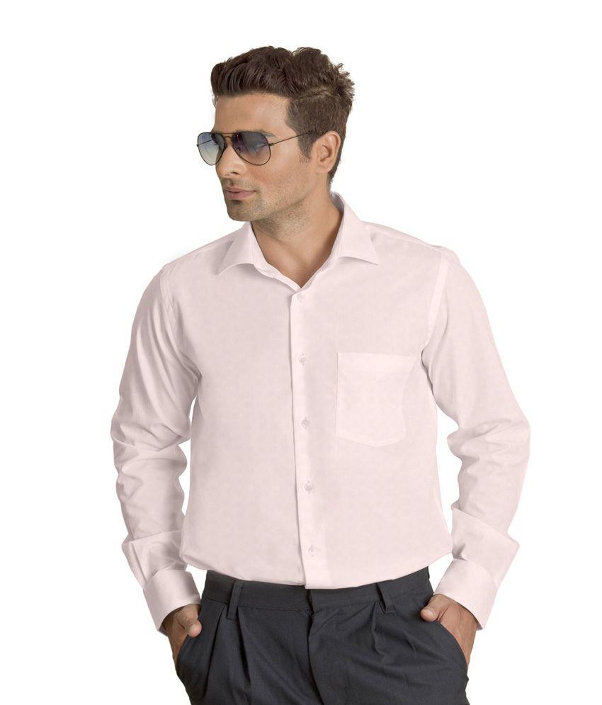 Willmohr Light Pink Formal Shirt.