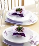 Corelle 6 Pcs Dinner Plate Set-Asia Warm Pansies
