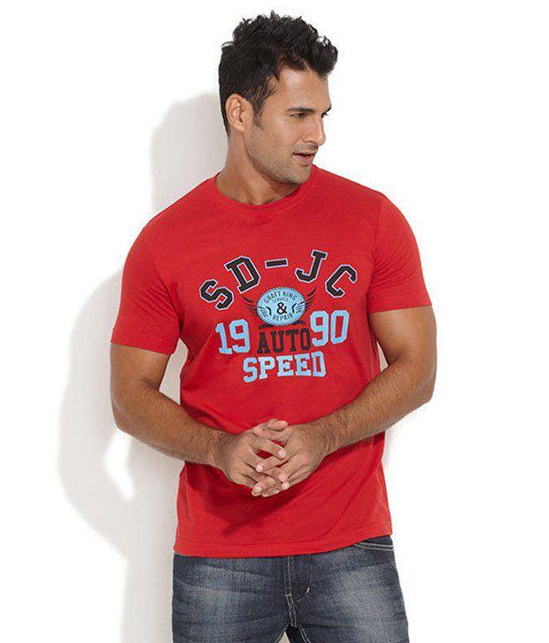Duke Red Polyester T-shirt