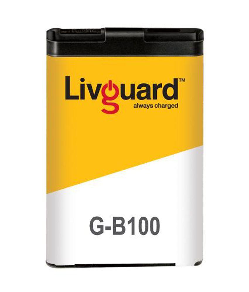 Livguard Mobile Phone Battery B100 for Samsung