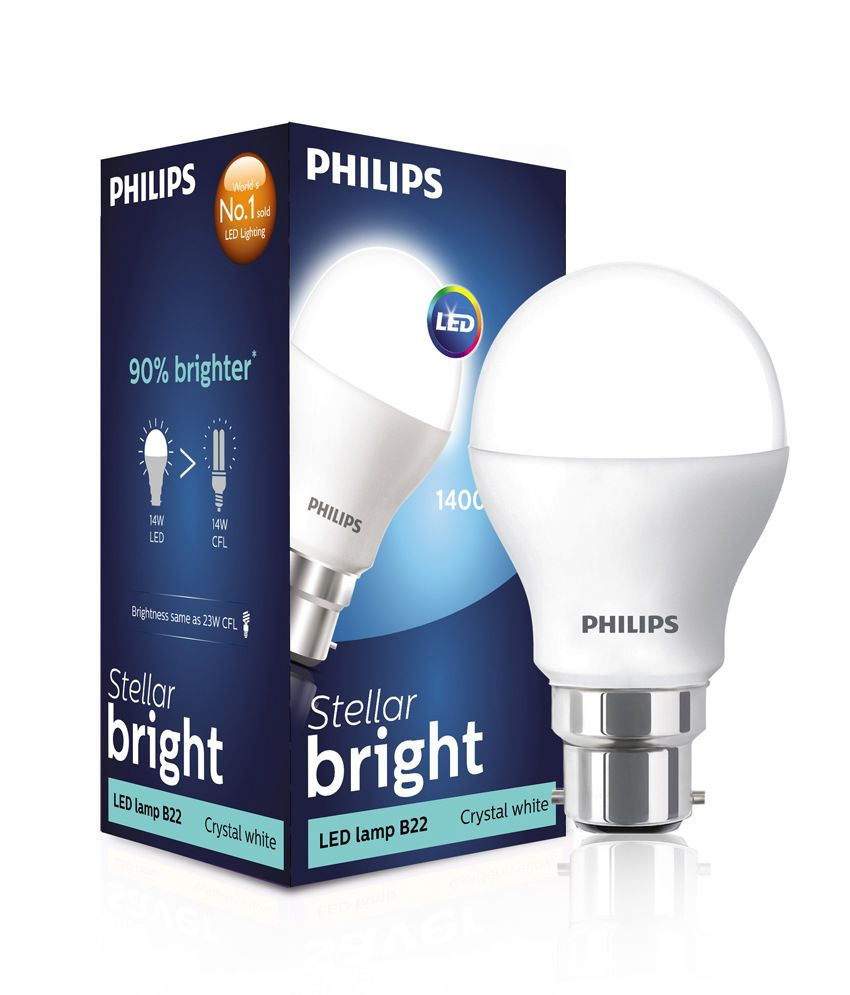 Philips White 14 Watt Led Light Bulb