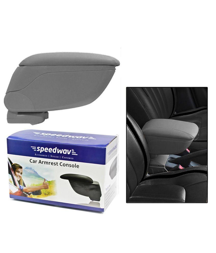 Speedwav Car Armrest Console Grey Color Maruti Zen Estilo