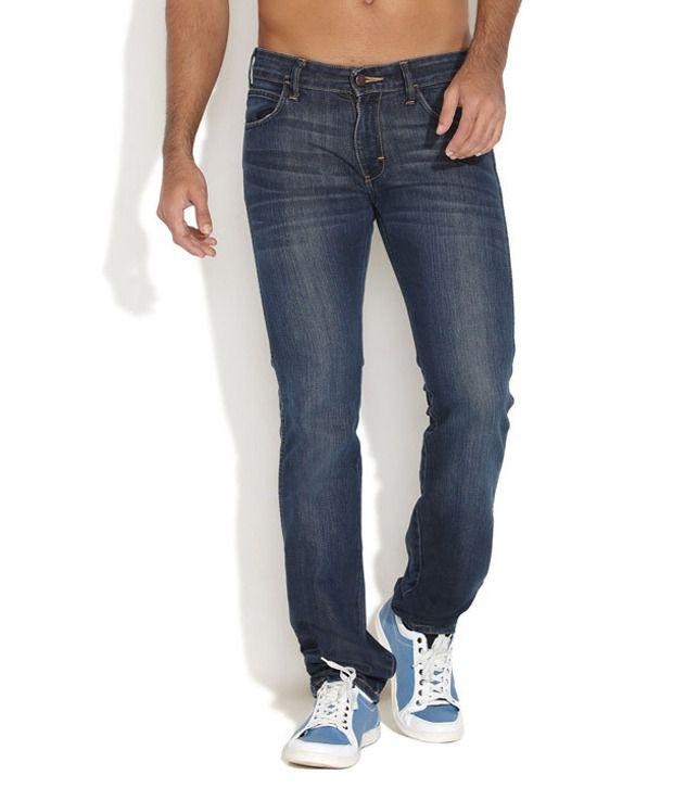 Wrangler Blue Slim Jeans