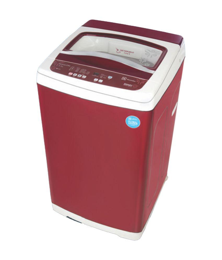 electrolux top load washing machine