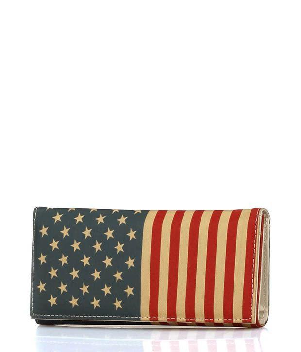 Ella Bags Stars And Stripes Wallet Multi