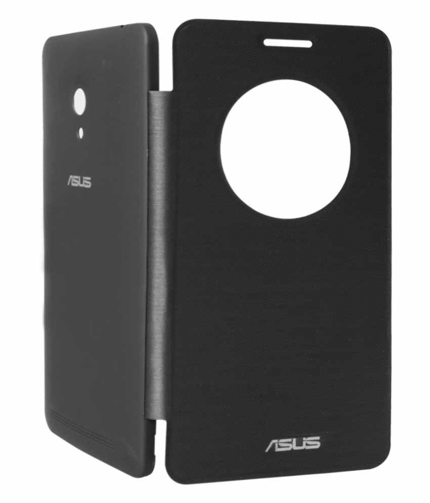 Canvas Flip Cover For Asus Zenfone 6 A600cg