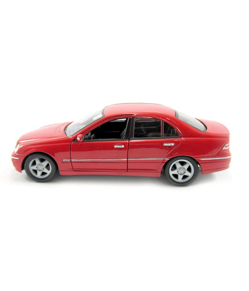 Welly Mercedes Benz C Class Red 1 24 Diecast Car Scale Model Buy