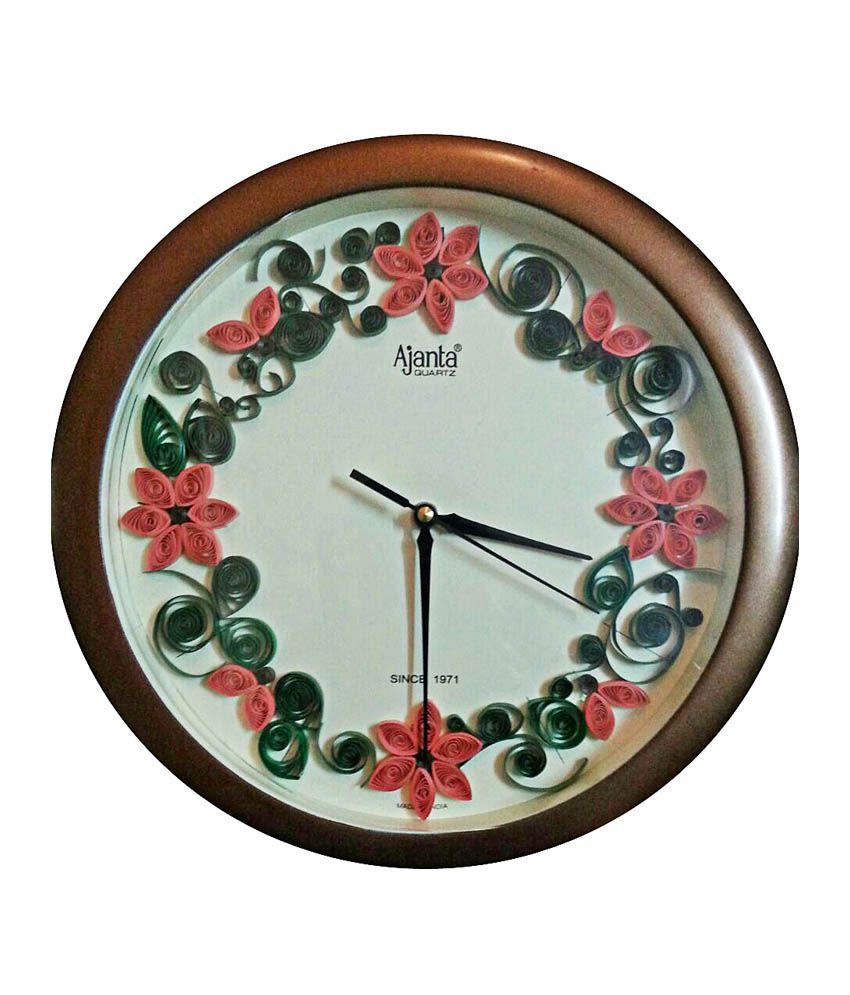 Ajanta wall clock buy ajanta wall clock at best price in india on ajanta wall clock amipublicfo Images