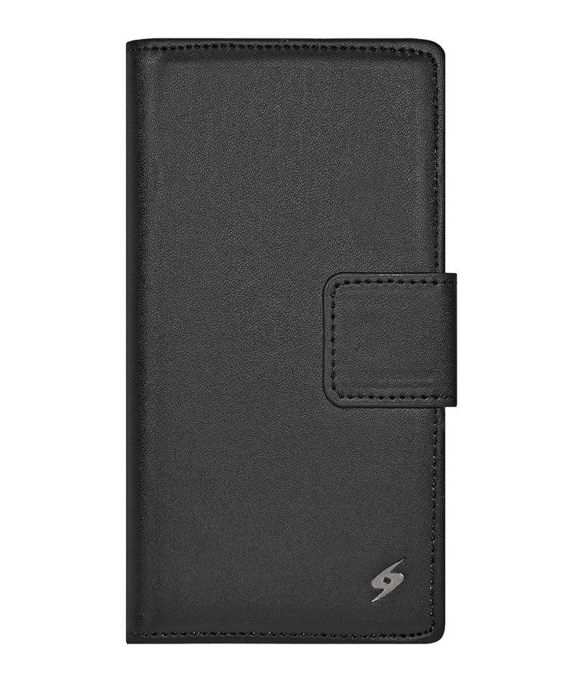 more photos 40cc6 9204d Amzer Flip Cover For Xiaomi Redmi 1s - Black