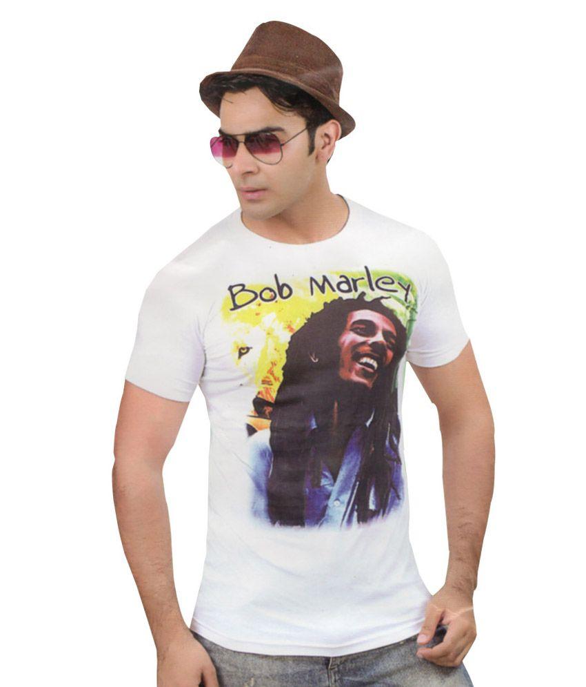 Mannmohh slim fit white t shirt for men buy mannmohh for Slim fit white t shirt