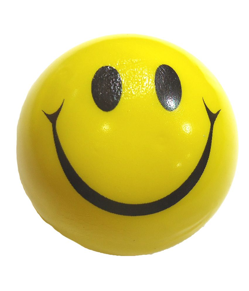 Snb Yellow Smiley Sponge Ball - Pack Of 12 Balls - Buy Snb Yellow ...