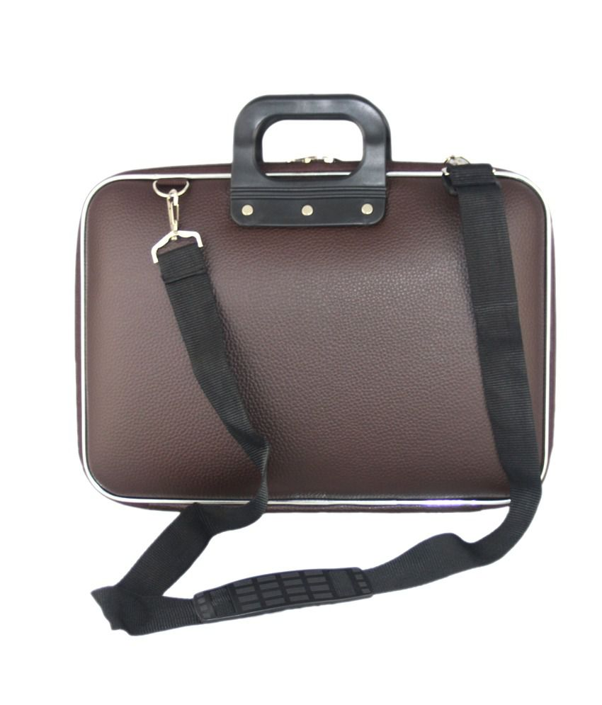 Trinity Brown Water Resistant Laptop Bag
